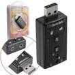 ADAPTADOR PLACA DE SOM USB 7.1 COM ENTRADAS P2 DE FONE E MICROFONE