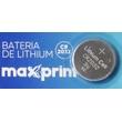 BATERIA DE LÍTIO CR2032 3V UNIDADE - MAXPRINT