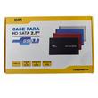 CASE PARA HD SATA 2,5 USB 3.0 BM754