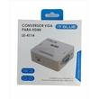 MINI ADAPTADOR CONVERSOR DE VGA P/ HDMI LE-4114