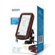 SUPORTE DE SMARTPHONE PARA MOTO COM CASE IMPERMEÁVEL E CARREGADOR USB SP-CA35S